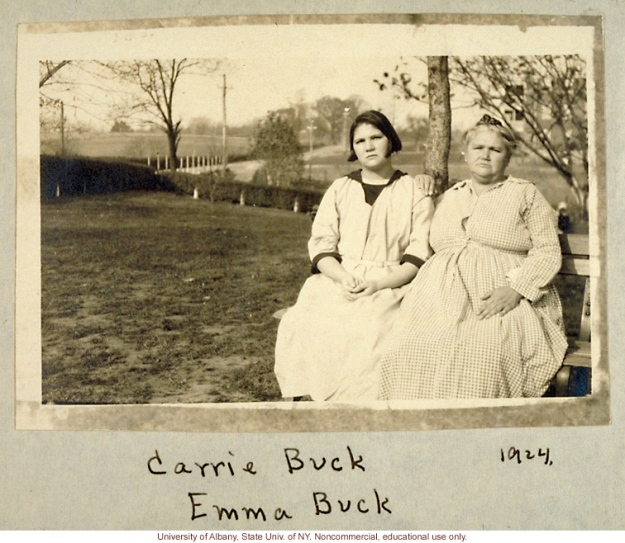 1287-Carrie-and-Emma-Buck-at-the-Virginia-Colony-for-Epileptics-and-Feebleminded-taken-by-A-H-Estabrook-the-day-before-the-Buck-v-Bell-trial-in-Virginia