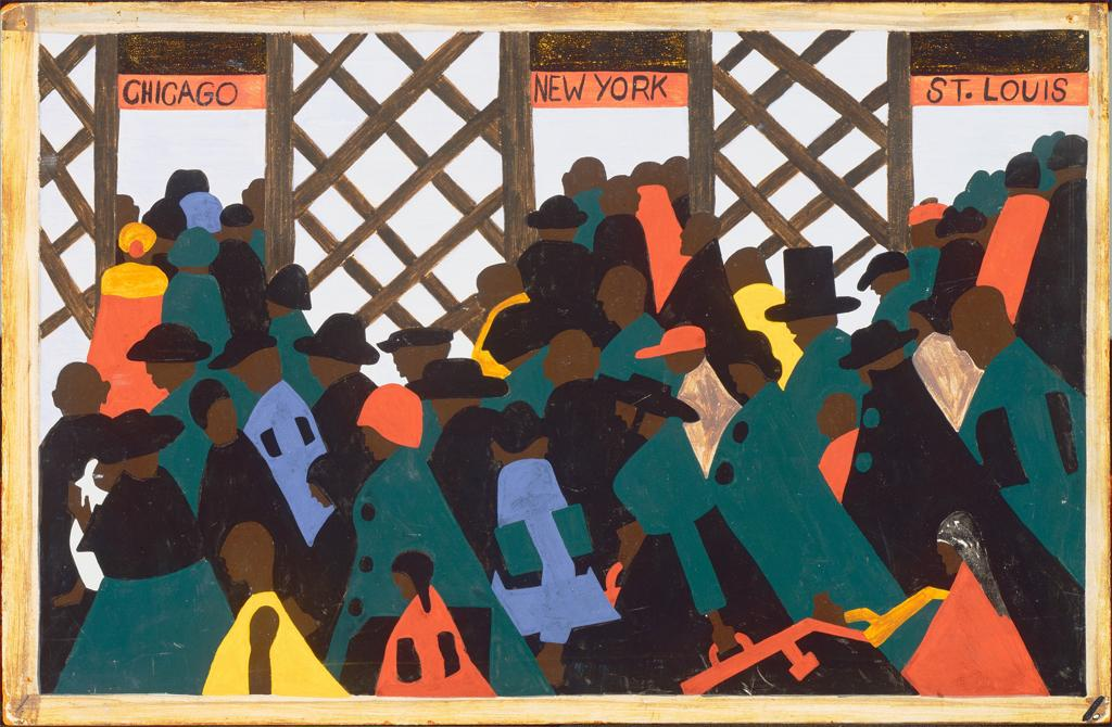 The Great Migration Series by Jacob Lawrence (HUM225) | analepsis