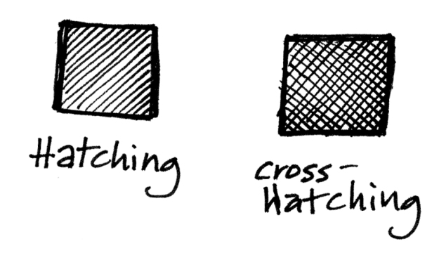 hatching+cross