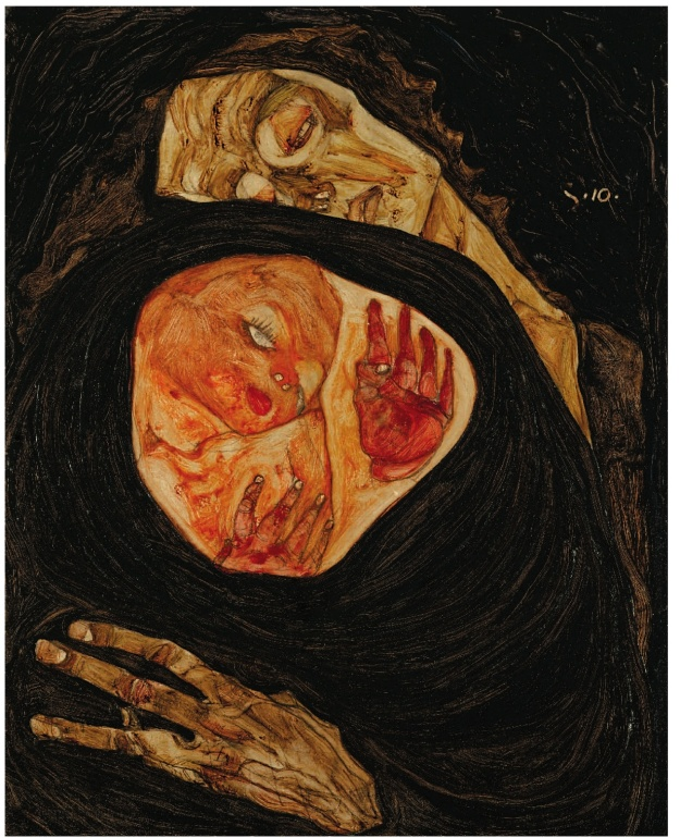 Dead Mother 1 Schiele 1910