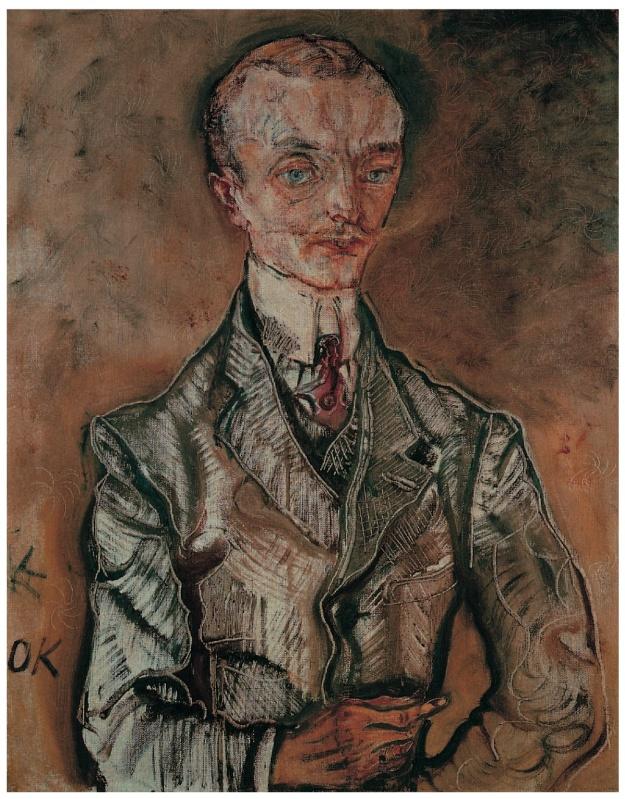 Marquise Joseph de Montesquiou-Fezensac Kokoschka 1910