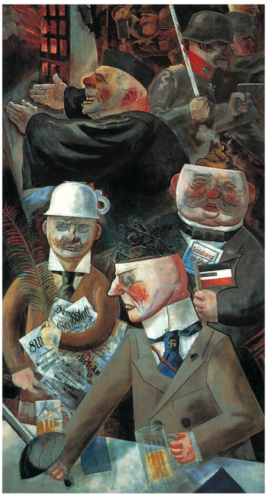 The Pillars of Society Grosz 1926