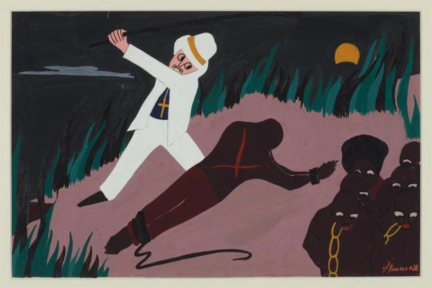 Toussaint L'Ouverture series, panel no10