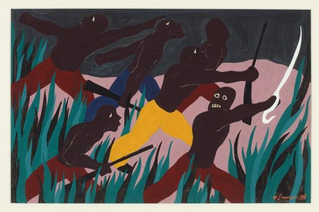 Toussaint L'Ouverture series, panel no12