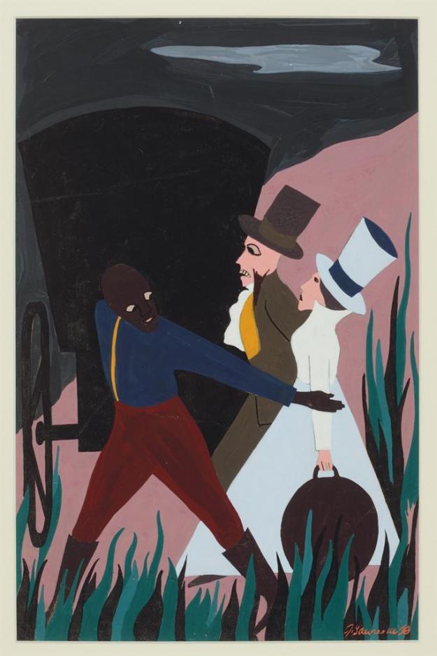 Toussaint L'Ouverture series, panel no13