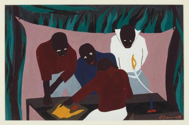 Toussaint L'Ouverture series, panel no14