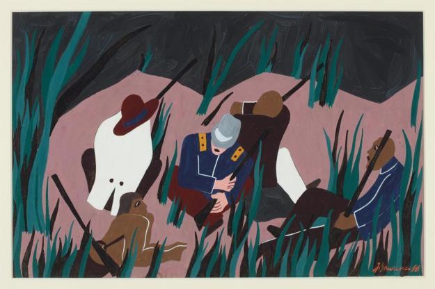 Toussaint L'Ouverture series, panel no15