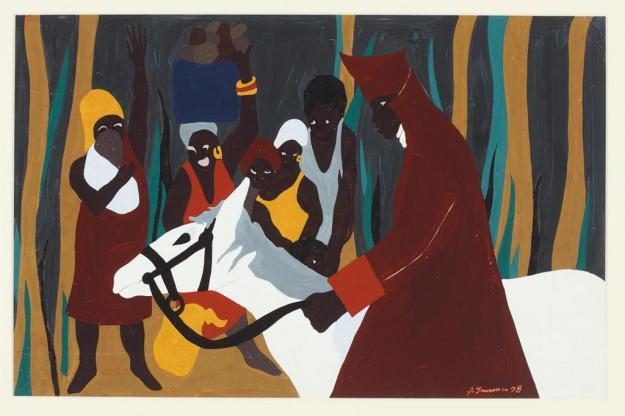 Toussaint L'Ouverture series, panel no16