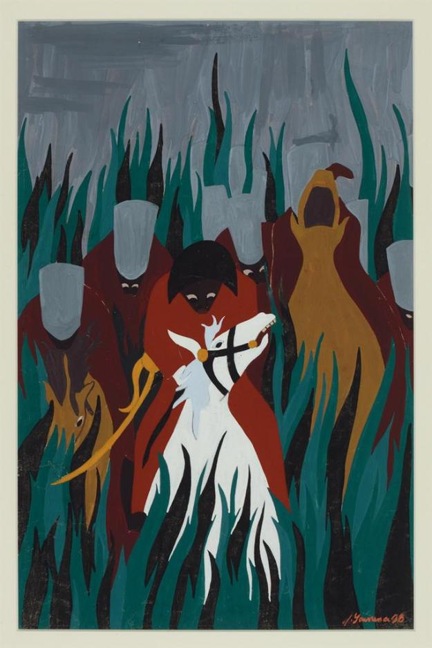 Toussaint L'Ouverture series, panel no17