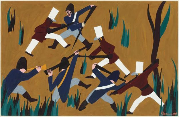 Toussaint L'Ouverture series, panel no18