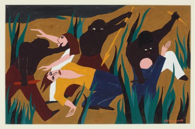 Toussaint L'Ouverture series, panel no19