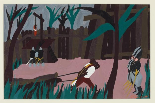 Toussaint L'Ouverture series, panel no2
