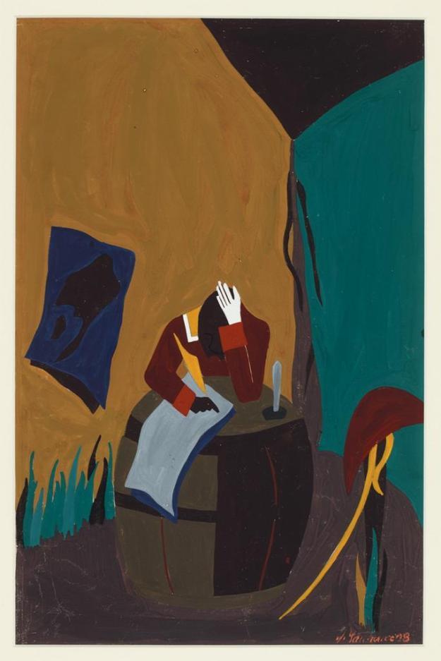 Toussaint L'Ouverture series, panel no22
