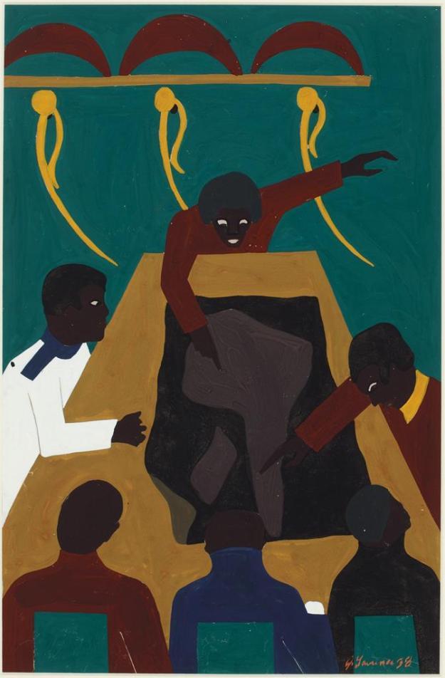 Toussaint L'Ouverture series, panel no24
