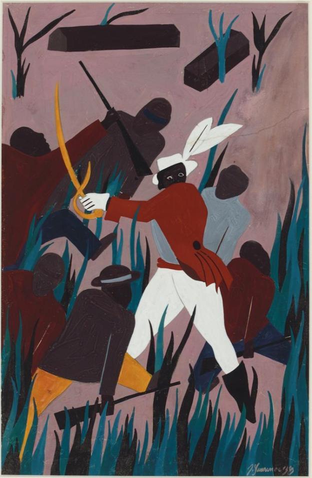 Toussaint L'Ouverture series, panel no25