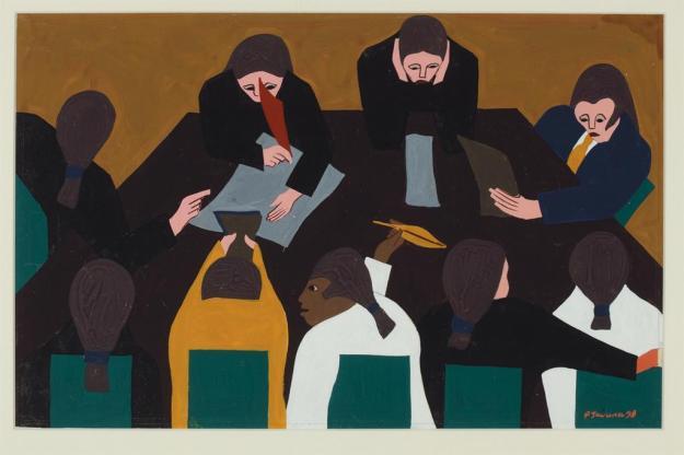 Toussaint L'Ouverture series, panel no28