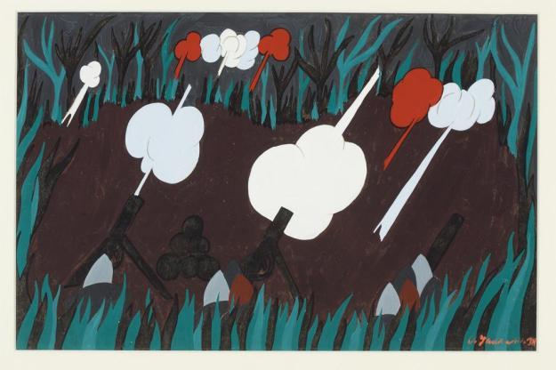 Toussaint L'Ouverture series, panel no3