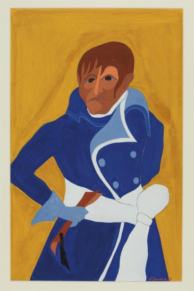 Toussaint L'Ouverture series, panel no30