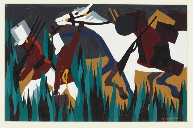 Toussaint L'Ouverture series, panel no33