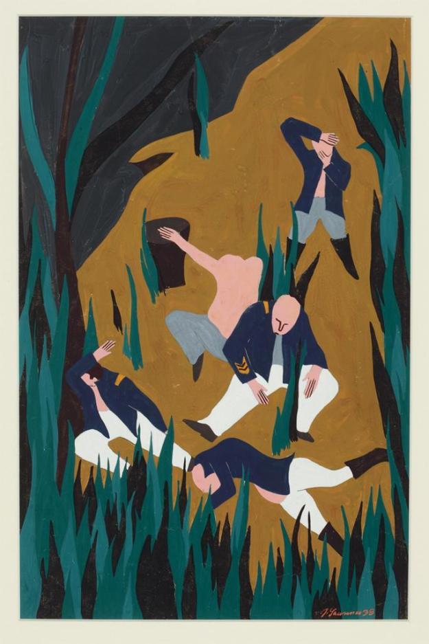 Toussaint L'Ouverture series, panel no35