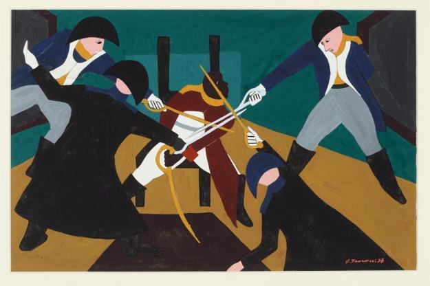 Toussaint L'Ouverture series, panel no36