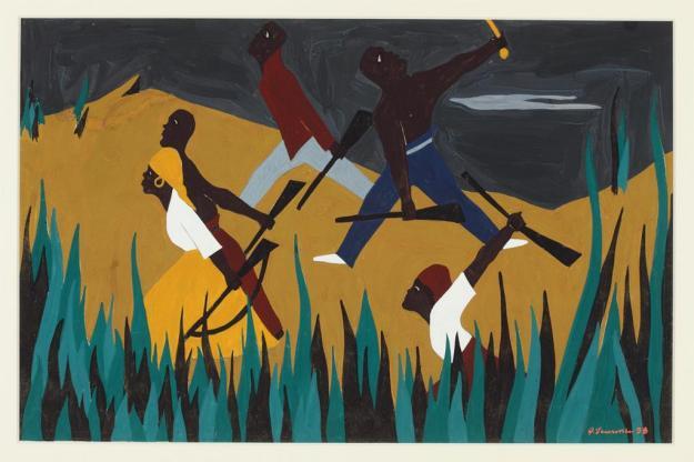 Toussaint L'Ouverture series, panel no38