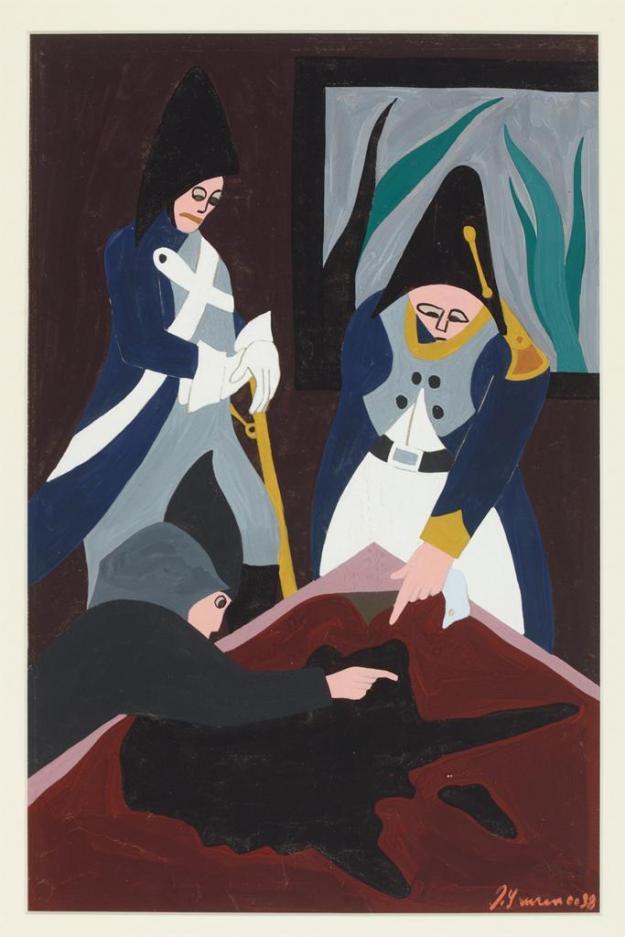 Toussaint L'Ouverture series, panel no4