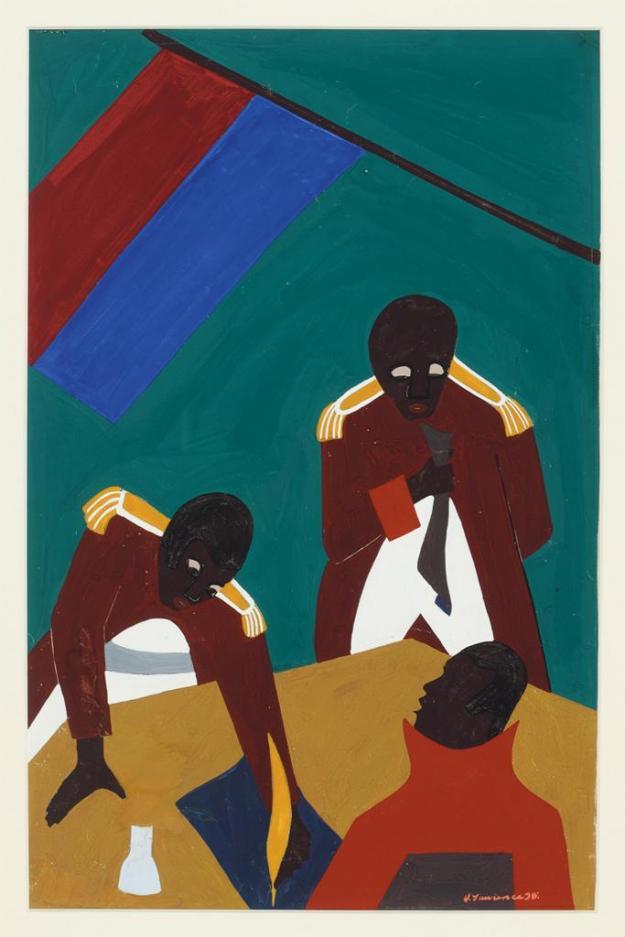 Toussaint L'Ouverture series, panel no40