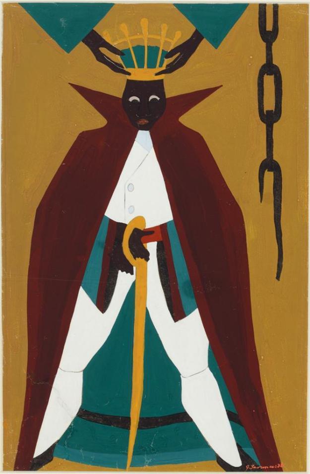 Toussaint L'Ouverture series, panel no41