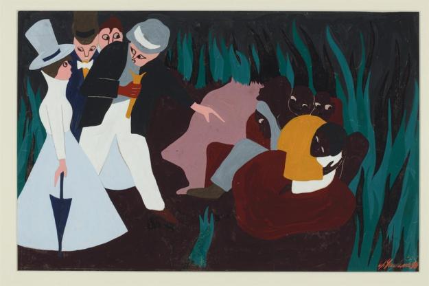 Toussaint L'Ouverture series, panel no5
