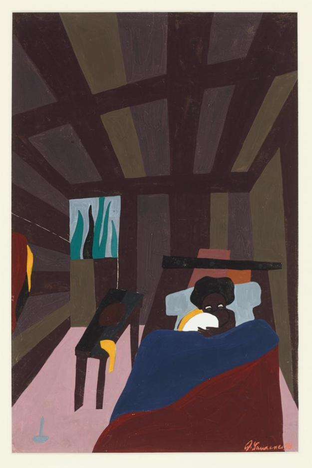 Toussaint L'Ouverture series, panel no6