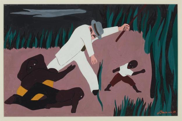 Toussaint L'Ouverture series, panel no7