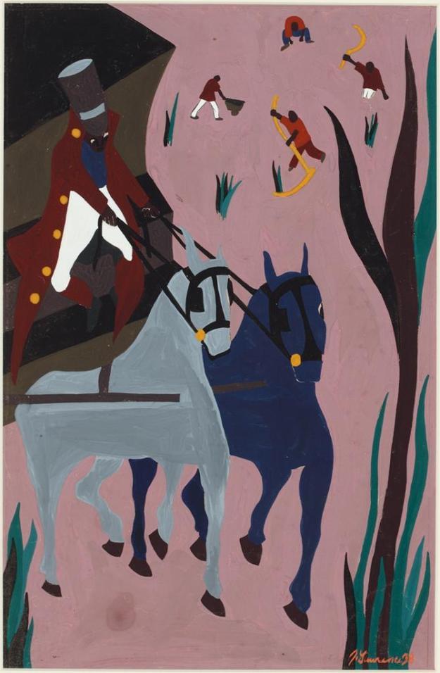 Toussaint L'Ouverture series, panel no8