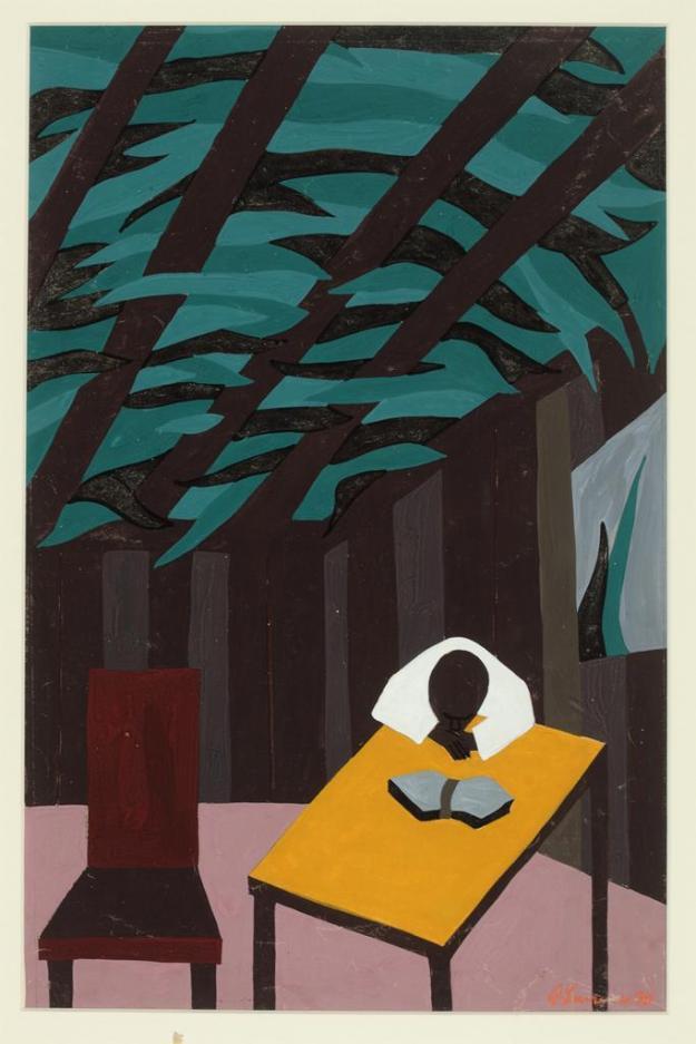 Toussaint L'Ouverture series, panel no9