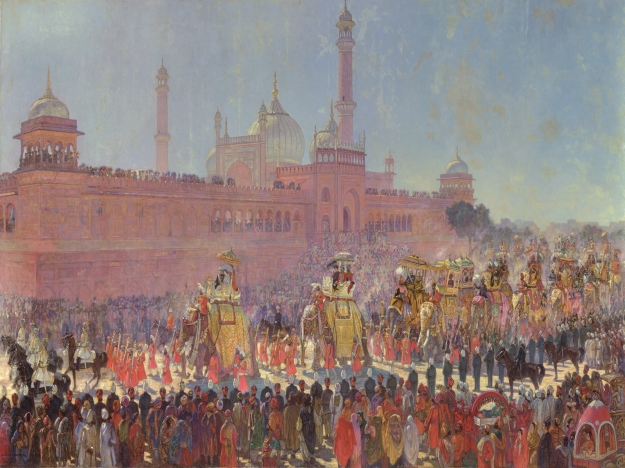 'The State Entry at the Delhi Durbar 1903' .jpg