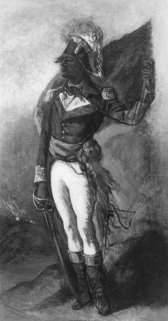 Portrait of a Haitian General, probably Jean-Jacques Dessalines