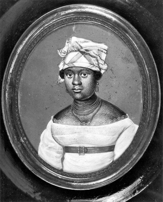 Portrait of Mrs. Pierre TOUSSAINT (née Juliette NOEL) (?-1851), wife of Pierre TOUSSAINT (ca. 1766-1853)