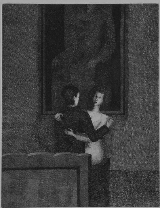 Kafka. The Trial 4, 1975, etching, 32x24,5cm