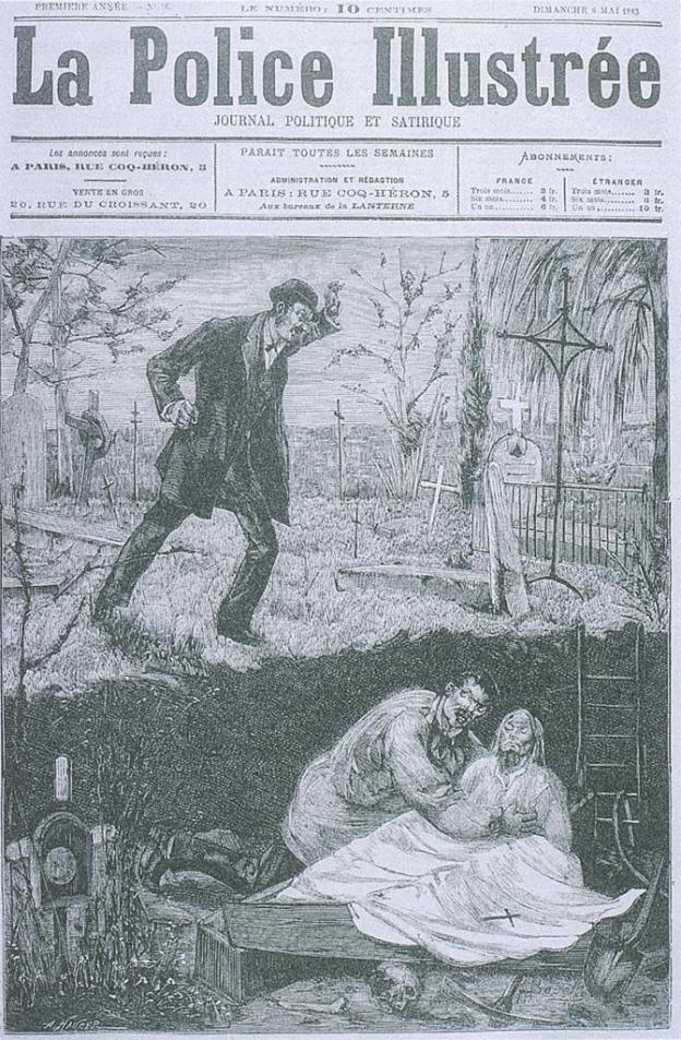 Police Illustrée: The Vampire of Vinezac1883.jpg
