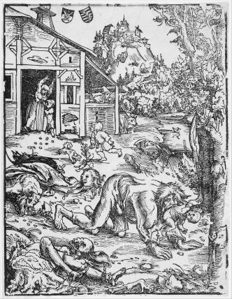 CranachTheElder-TheWerewolfOrTheCAnnibal