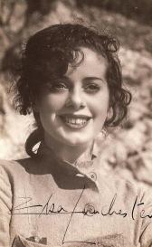 Elsa+Lanchester+on+the+set+of+Bride+of+Frankenstein+(1935)
