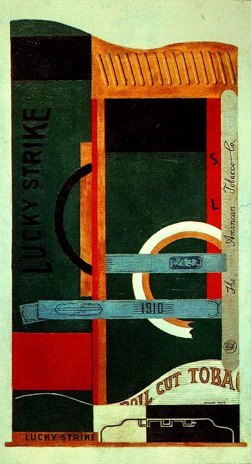 Davis_Stuart_Lucky_Strike_1921