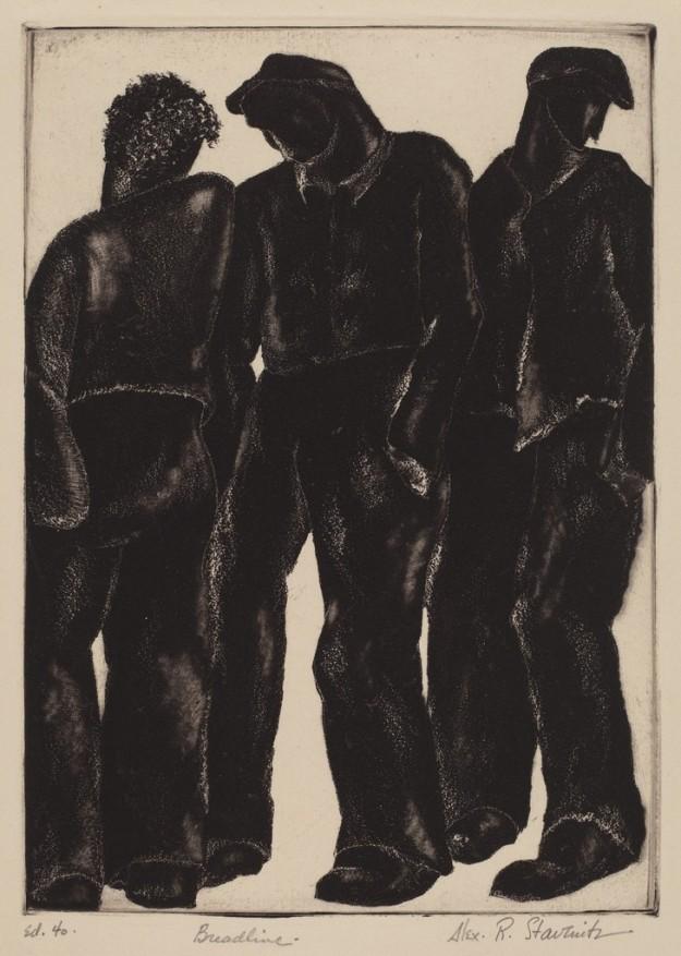 Stavenitz1933Breadline