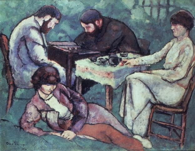 Duchamp1910TheChessGame
